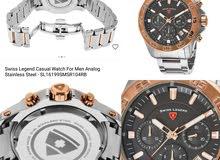ساعة Swiss Legend سويسرية