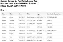 Oxygen Sensor Nissan