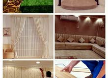 i Will making sofa curtain wallpaper