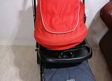 للبيع   عربة أطفال من مذركير  ماركة جونيورز Juniors إستخدام تقريبآ شهر واحد