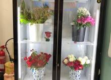 ثلاجة زهور