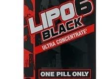 Nutrex Research, Lipo-6 الأسود، فائق التركيز، 60 كبسولة سوداء