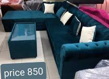 مجموعة أريكة حديثة الطراز l الشكل sofa set new for sale brand new in low cost