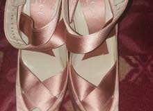 Gucci Rose Gold 36 Heels Made in Italy
