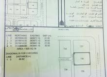 أرض سكنية بالبريمي (الغريفة 3 A) للبيع