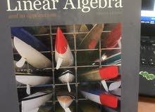 5 Math books (Calculus, Algebra, Probability, Statistics)