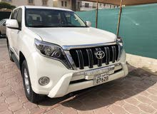 White Toyota Prado 2015 for sale