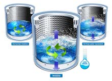 غسالة نوع Samsung active dual wash 13kg
