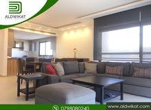 شقة مفروشة مميزة للايجار في منطقة الدوار الرابع مساحة البناء 160 م