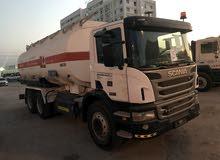 اسكانيا للبيع موديل 2012 مع تانكر بترول