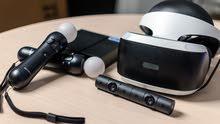 نظارات واقع افتراضي سوني 4 مع عصيان الحركة و كاميرا