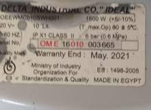 سخان مياه كهرباء أوليمبيك 10 لتر