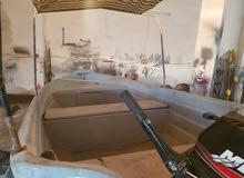 قارب 4متر فيبر
