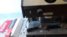 ماكينة قهوة اكسبريس 2 براتشو تخدم