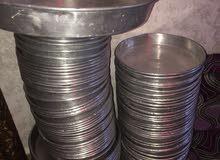 صواني المنيوم 120 حبه احجام مختلفه للبيع بسعر مغري
