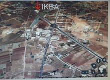 ارض للبيع طريق المطار ام العمد مقابل ايكيا