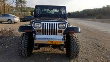 Black Jeep Wrangler 1995 for sale