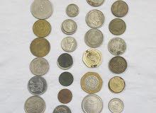 عملات معدنية و ورقية قديمة