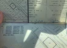 فرصة للبيع ارض سكنية ممتازة في بوشر مرتفعات الضباط بواجهة عريضة