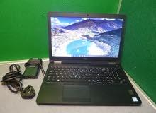 أستيراد DELL LATITUDE E5570 CORE I7 جيل سادس6820 HQ رمات 16 جيجا DDR4 هارد 512 SSD M2