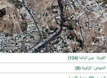 950م في عين الباشا حوض الزاويه عاليه ومطله مع فرق منسوب بسعر مغري جدا
