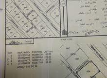 ارض بمخطط حي الشعثا ء مساحة 615 متر ب 5700 ريال