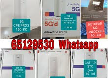 5G  and 4G plus Routers  available