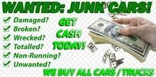 WE ARE BUYING USED SCRAP DAMAGE ACCIDENT CARS WORKING NON