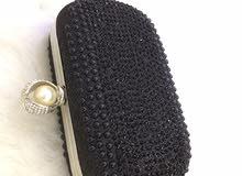 حقيبة مناسبة  سوداء جديدة للبيع