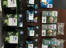 احبار طابعات HP  و  EPSON   للبيع