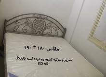 سرير + مرتبة امراتي
