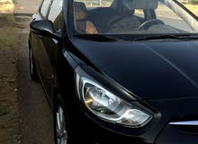 Automatic Black Hyundai 2012 for sale