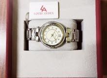 """ساعة ماركة """" نسائية """" من شركة لويس آردن جديدة غير مستخدمة"""