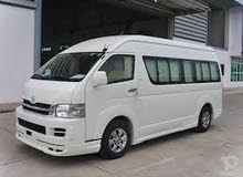 Toyota Grand Hiace 2018 for rent per Month