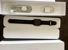 Apple Watch 42mm Black Aluminum Case Sport Band