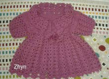 فستان بناتي صوف للبيع