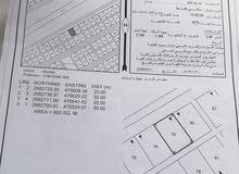 ارض سكنيه للبيع العوينات مربع 29 موقع ممتاز خط اول ع الشارع الرئيسي