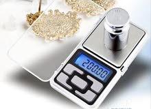 ميزان الكتروني electronic scale حساس للذهب والمعادن الثمنيه