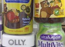 فيتامينات جلاتين للكبار والاطفال