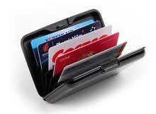 محفظه بنوع امريكي متميزه للبطاقات البنكيه تحمل 6شرايح من سوق امزون الامريكي