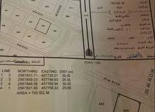 الجبيه عبري موقع ممتاز مساحه 750م
