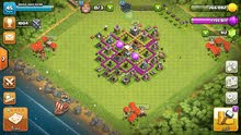 قرية clash of clans قاعة المدينة مستوى 6 والقرية كلها ماكس