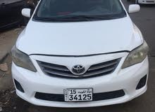 White Toyota Corolla 2011 for sale