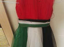 فستان لعيد الاتحاد بحاله جيده جدا