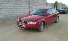Manual Red Audi 2004 for sale