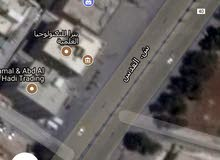ارض للبيع شارع القدس مساحه 2 دونم شارع امامي وخلفي تجاري مقابل الفريد