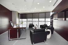 فضاء مكتب فسيح باطلالات جميلة على الكورنيش, الابراج والبحر للبيع