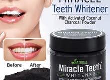 منتوج طبيعي  لتبيض الاسنان