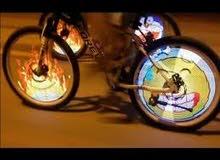 اضاءة led لعجلات الدراجات الهوائية