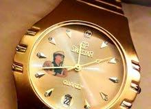 ساعة القذافي نحاسية السويسرية ماركة سويستار